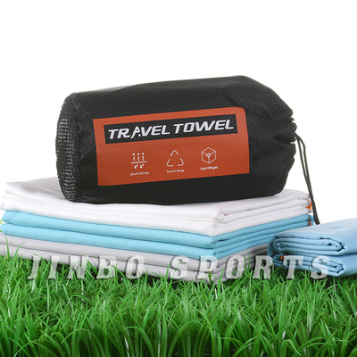 Microfiber Quick Dry Highly Absorbent Long Service Life Travel Towel Custom Size And Package