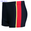 Breathable Fabric Spandex Elastic Swim Shorts